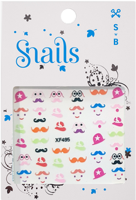 Nail Stickers Mrs Potato Head