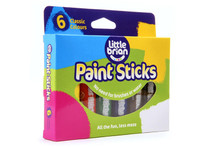 Little Brian Paint Sticks Classic 6 Asst
