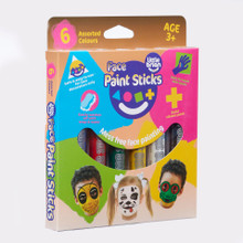 Little Brian Face Paint Sticks Classic 6