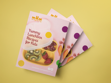 We Might Be Tiny Yummy Lunchbox Recipes For Kids - A5 BOOKLET