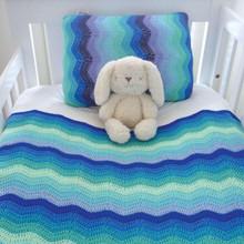 O.B. Designs Pillow Slip - Sky