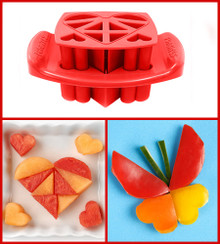 Funbites Hearts Red - Designs a big heart out of 10 geometric shapes! (OUT OF STOCK)