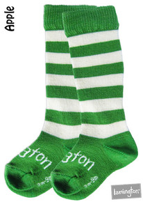 Lamington Merino Socks - Apple [PRICED FROM $14.90] (ONLY SIZE NB-3MTHS AND 3-9MTHS LEFT)