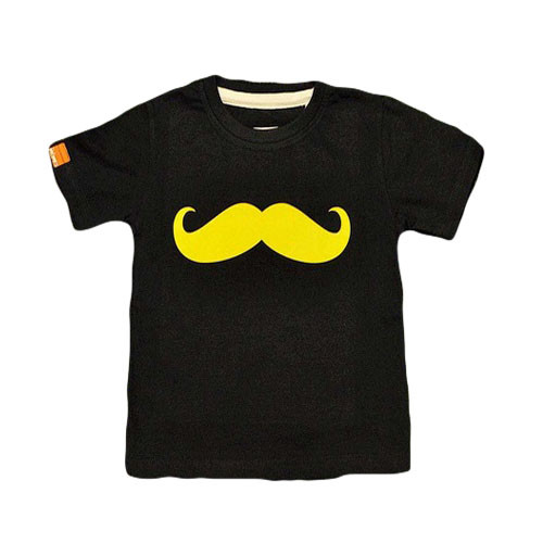 Momes Tee - Classic Moustache - Navy (LAST ONE LEFT - SIZE 3-4 YEARS)