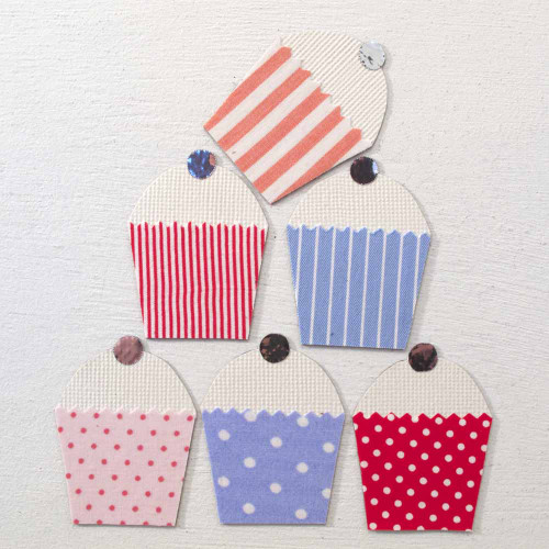 Tinch Studio Magnets - Cupcake Half-dozen