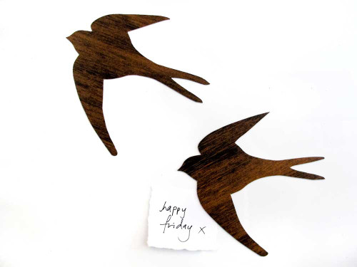 Tinch Studio Magnets - Swallow Pair