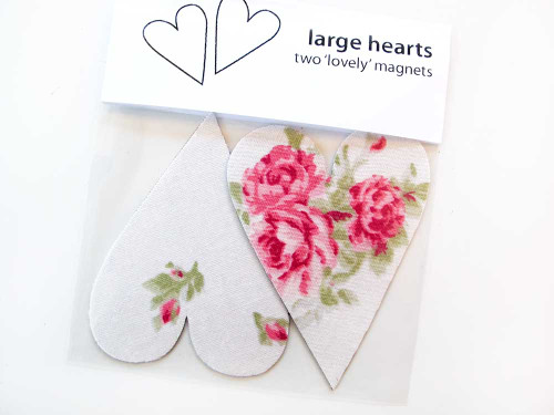 Tinch Studio Magnets - A Pair of Large Hearts