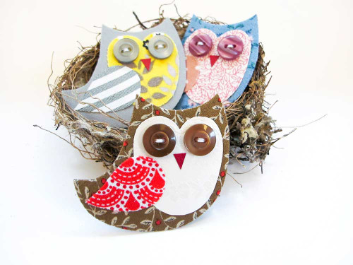 Tinch Studio Magnets - Single Baby Owl