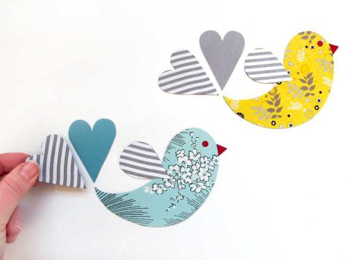 Tinch Studio Magnets - Single Lovebird