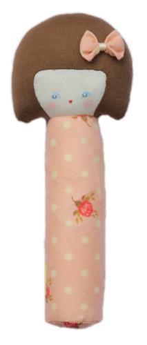 Alimrose Doll Handsqueaker - Jemima Pink