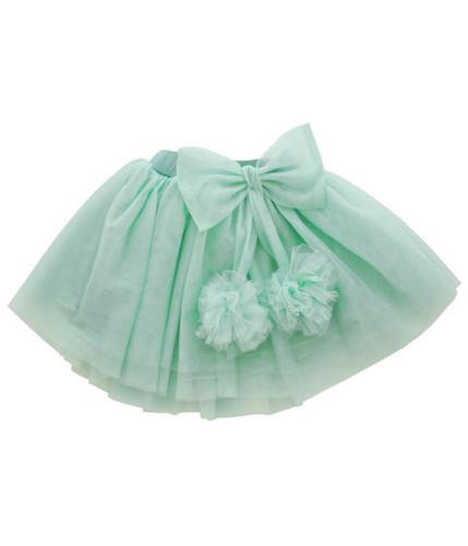 Curious Wonderland - Marshmellow Tulle Skirt - Mint (ONLY SIZE 1 LEFT)