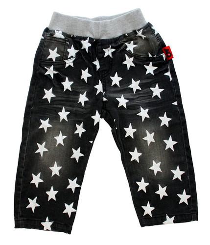 Curious Wonderland - Super Star Denim Shorts - Grey (LAST ONE LEFT - SIZE 3 YEARS)