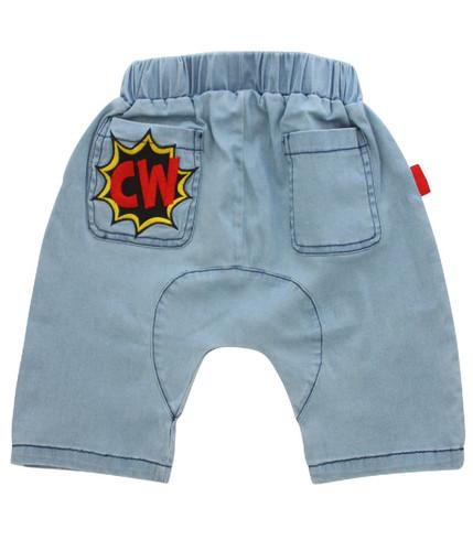 Curious Wonderland - Kapow! Harem Shorts
