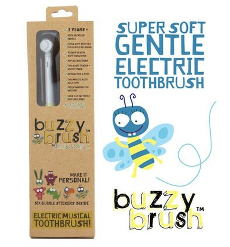 Jack and Jill Buzzy Brush - Electric Musical Toothbrush (OUT OF STOCK)