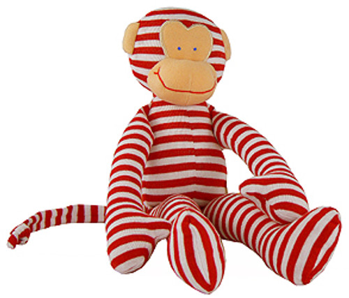Alimrose Monkey Rattle - Red