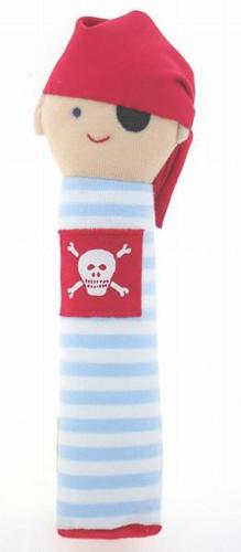 Alimrose Pirate Hand Squeaker - Pale Blue