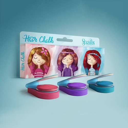 Snails Hair Chalk (Set of 3) (OUT OF STOCK)