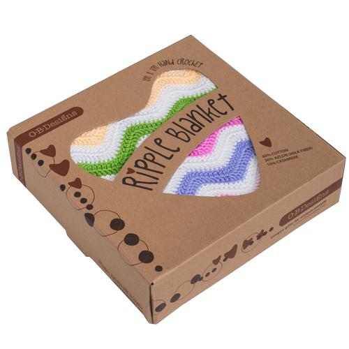 O.B. Designs Crochet Blanket - Blossom