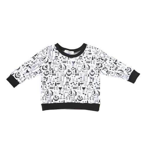 Mickey Rose Jumper - 5 Animal (LAST ONE LEFT - SIZE 1 YEAR)