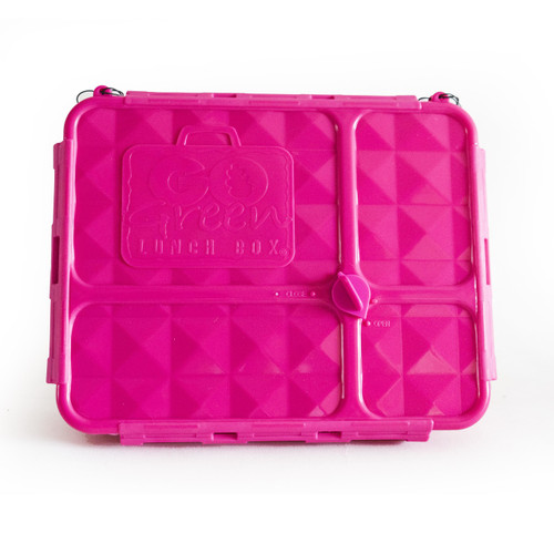 Go Green Lunch Box - Medium Pink (OUT OF STOCK)