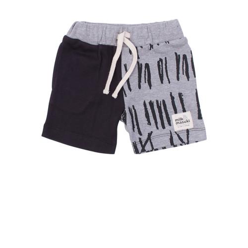 Milk & Masuki Baby Shorts - Matchstick (ONLY SIZE 0-3 & 6-12 MONTHS LEFT)