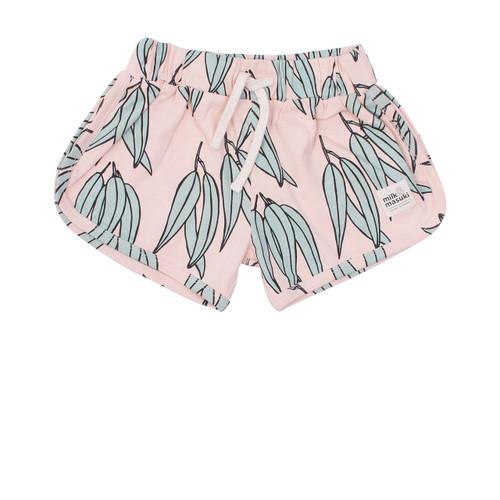 Milk & Masuki Baby Shorts - Gum Leaves