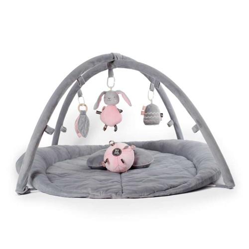 O.B. Designs Woodlands Activity Playmat (Pink + Grey)