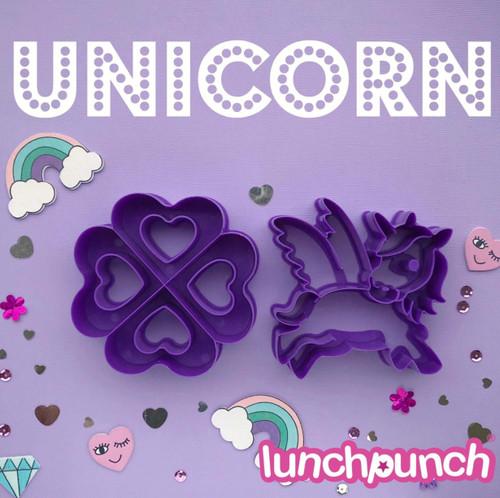 Lunch Punch (2 set) - I <3 Unicorn