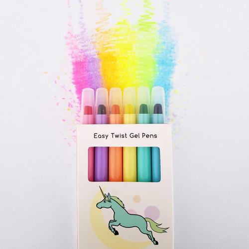 Lunables Magic Waxi  Neon Gel Crayons Mini Pack