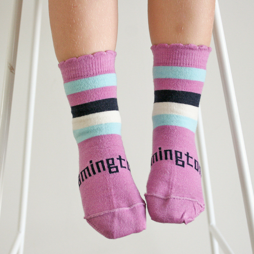 Lamington Merino Crew Socks - Boysenberry [FROM $15.90]
