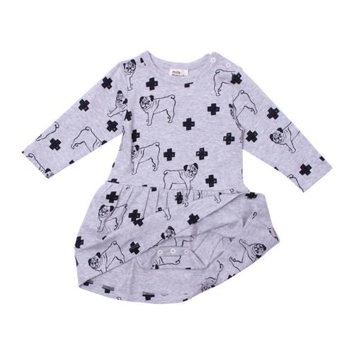 Milk & Masuki Bodysuit Dress - Pugs Meterage