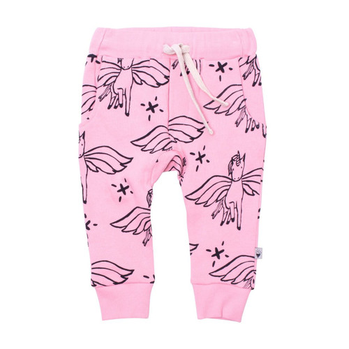 Milk & Masuki Baby Trackies - Unicorn Meterage
