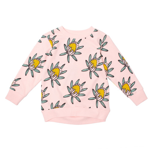 Milk & Masuki Crew Neck Jumper - Protea Meterage