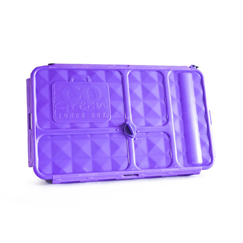 Go Green Lunchbox - Large Purple (OUT OF STOCK)