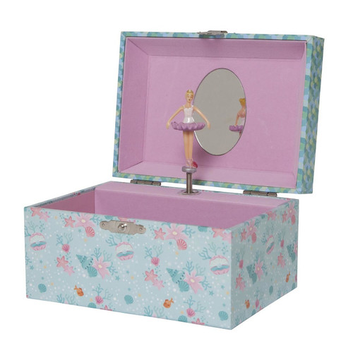 Tiger Tribe Medium Jewellery Box - Mermaids