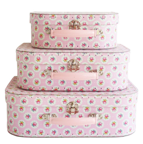 Alimrose Suitcase Set - Floral Medallion
