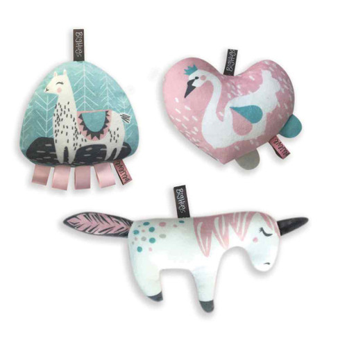 O.B. Designs 3 Piece Toy Set - Sweet Romance