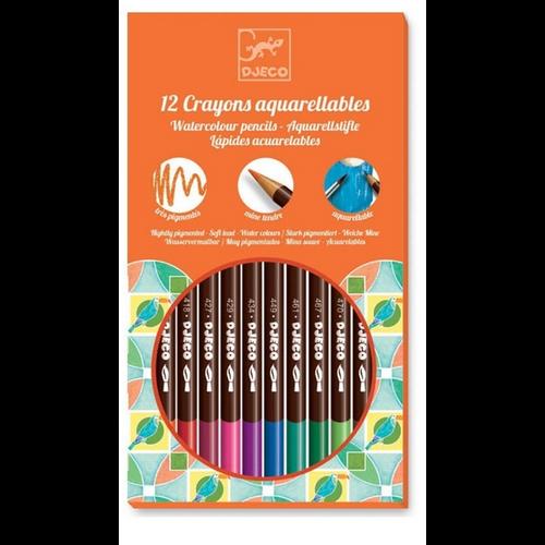 Djeco Watercolour Pencils
