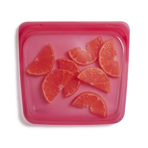 Stasher Silicone Sandwich Pouch - Raspberry