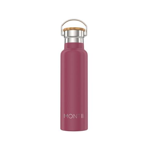 Montii Insulated Drink Bottles (600ml) - Burgundy