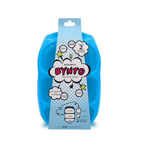 Goodbyn Bynto with Dipper Set - Neon Blue