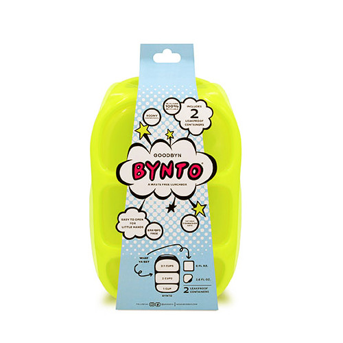 Goodbyn Bynto with Dipper Set - Neon Yellow Green