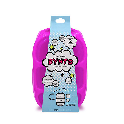 Goodbyn Bynto with Dipper Set - Neon Purple