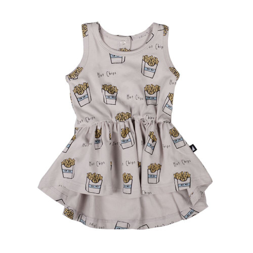 Anarkid Sleeveless Dress - Hot Chips