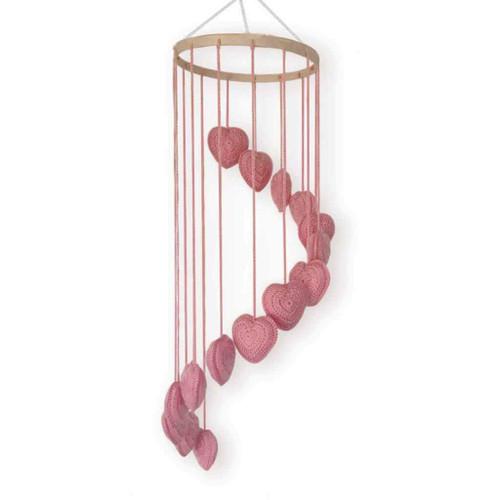 O.B. Designs Falling in Love Mobile - Blush