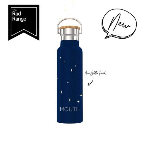 Montii Insulated Drink Bottle (600ml) - Midnight Glitter