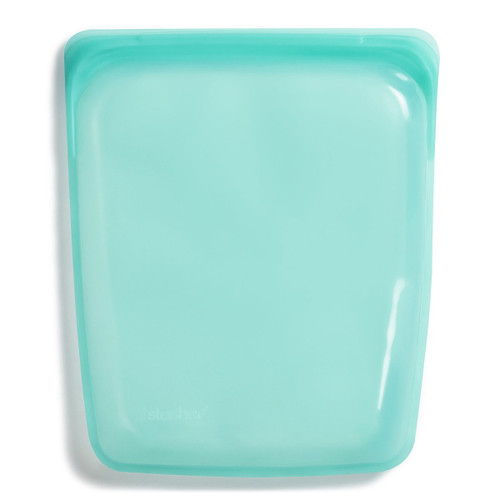 Stasher Silicone Half Gallon Bag - Aqua