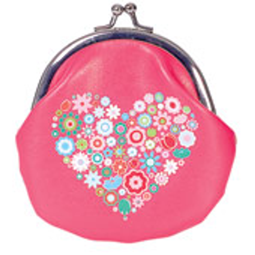 Bobble Art Purse - Heart