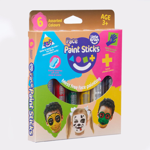 Little Brian Face Paint Sticks Classic 6