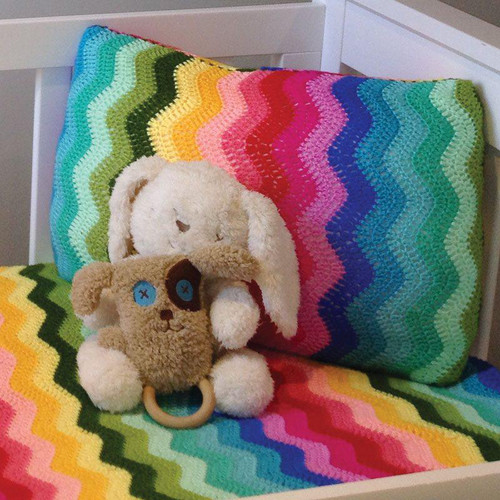O.B. Designs Pillow Slip - Rainbow